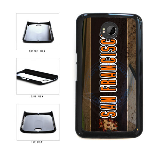 Hashtag San Francisco #SanFrancisco Baseball Team  Plastic Phone Case Back Cover For Google Nexus 6 includes BleuReign(TM) Cloth and Warranty Label