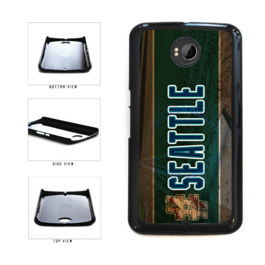 Hashtag Seattle #Seattle Baseball Team  Plastic Phone Case Back Cover For Google Nexus 6 includes BleuReign(TM) Cloth and Warranty Label