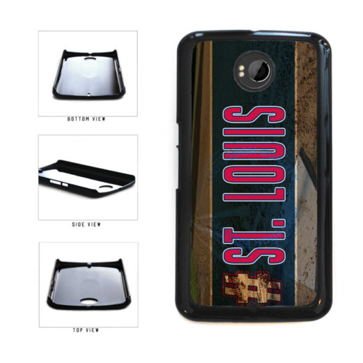 Hashtag St Louis #StLouis Baseball Team Plastic Phone Case Back Cover For Google Nexus 6 includes BleuReign(TM) Cloth and Warranty Label