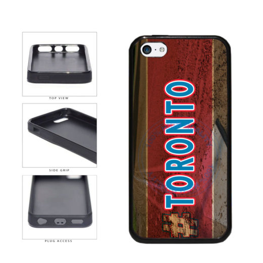 Hashtag Toronto #Toronot Baseball Team  TPU Rubber SILICONE Phone Case Back Cover For Apple iPhone 5c includes BleuReign(TM) Cloth and Warranty Label