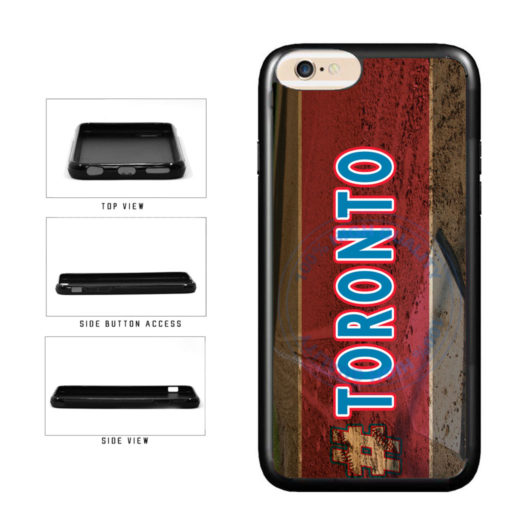 Hashtag Toronto #Toronot Baseball Team  TPU Rubber SILICONE Phone Case Back Cover For Apple iPhone 6 Plus 6s Plus (5.5 Inches Screen) includes BleuReign(TM) Cloth and Warranty Label