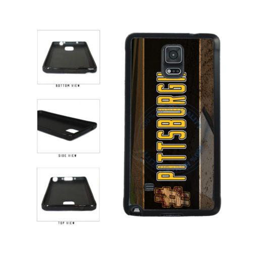 Hashtag Pittsburgh #Pittsburgh Baseball Team  TPU Rubber SILICONE Phone Case Back Cover For Samsung Galaxy Note IV 4 N910 includes BleuReign(TM) Cloth and Warranty Label