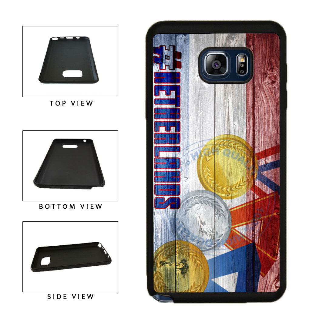Sport Games Hashtag Team Netherlands #Netherlands TPU RUBBER SILICONE Phone Case Back Cover For Samsung Galaxy Note V 5 N920 includes BleuReign(TM) Cloth and Warranty Label