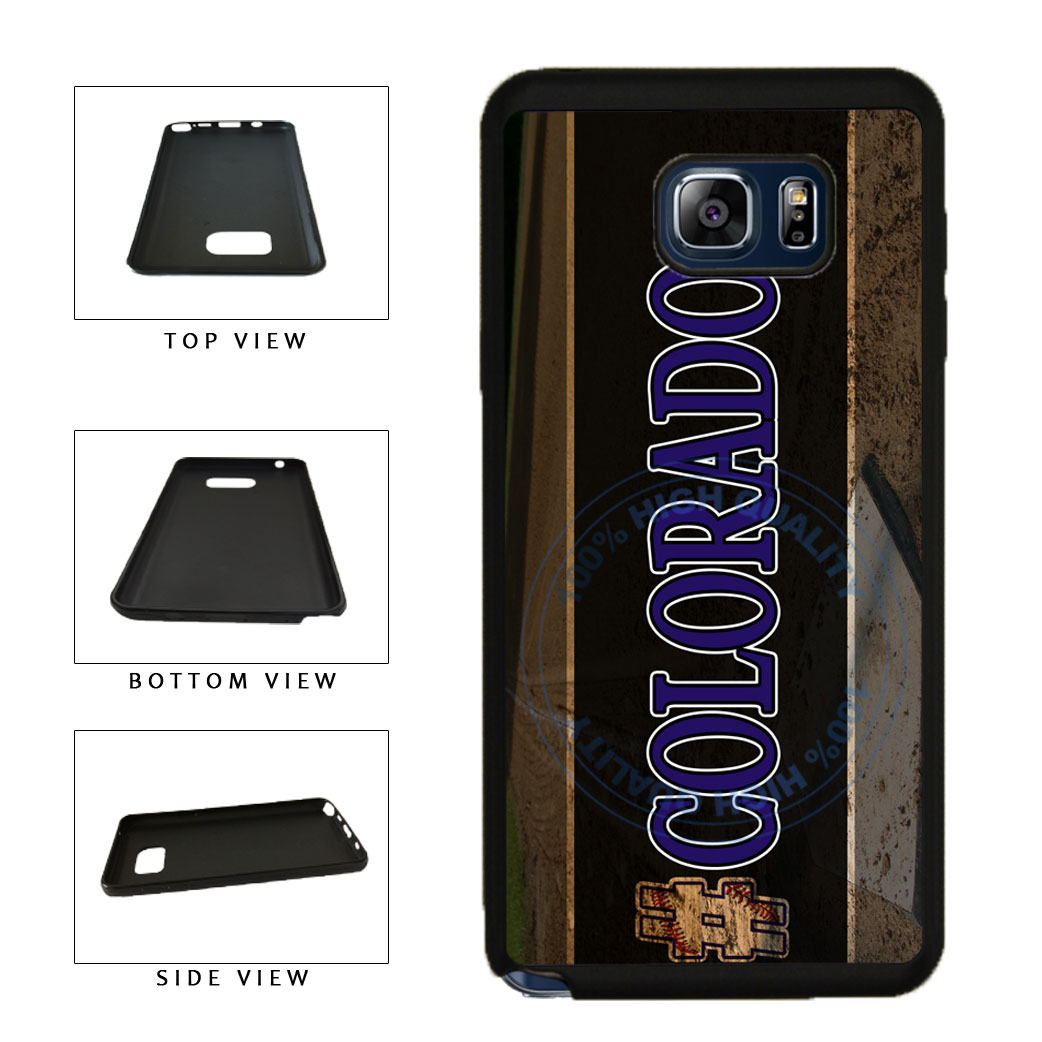 Hashtag Colorado #Colorado Baseball Team  TPU RUBBER SILICONE Phone Case Back Cover For Samsung Galaxy Note V 5 N920 includes BleuReign(TM) Cloth and Warranty Label