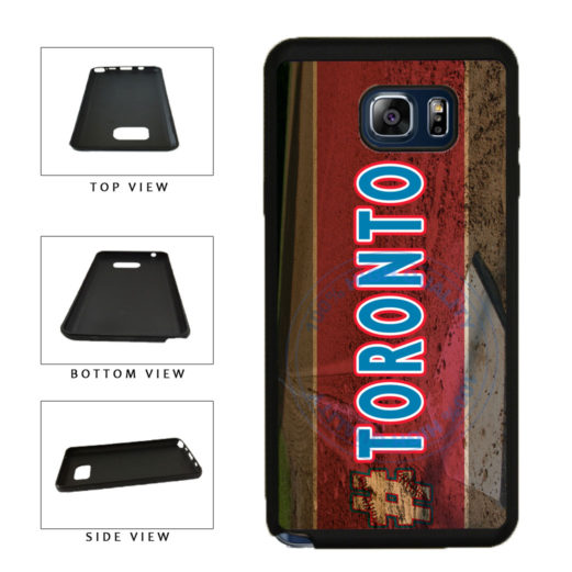 Hashtag Toronto #Toronot Baseball Team  TPU RUBBER SILICONE Phone Case Back Cover For Samsung Galaxy Note V 5 N920 includes BleuReign(TM) Cloth and Warranty Label