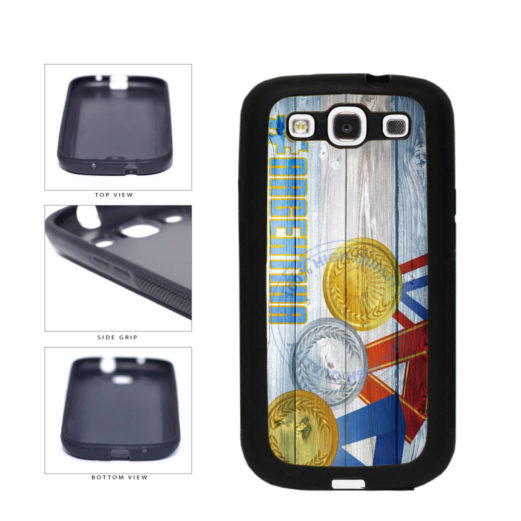Sport Games Hashtag Team Argentina #Argentina TPU Rubber SILICONE Phone Case Back Cover For Samsung Galaxy S3 I9300 includes BleuReign(TM) Cloth and Warranty Label