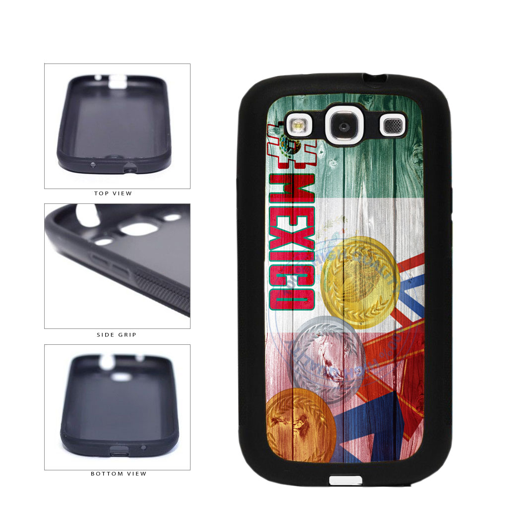 Sport Games Hashtag Team Mexico #Mexico TPU Rubber SILICONE Phone Case Back Cover For Samsung Galaxy S3 I9300 includes BleuReign(TM) Cloth and Warranty Label