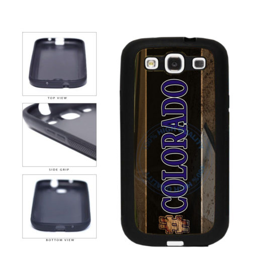 Hashtag Colorado #Colorado Baseball Team  TPU Rubber SILICONE Phone Case Back Cover For Samsung Galaxy S3 I9300 includes BleuReign(TM) Cloth and Warranty Label