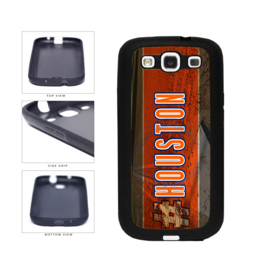 Hashtag Houston #Houston Baseball Team  TPU Rubber SILICONE Phone Case Back Cover For Samsung Galaxy S3 I9300 includes BleuReign(TM) Cloth and Warranty Label