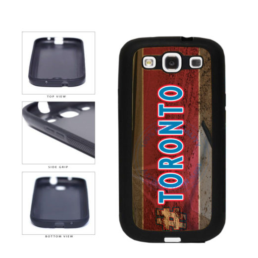 Hashtag Toronto #Toronot Baseball Team  TPU Rubber SILICONE Phone Case Back Cover For Samsung Galaxy S3 I9300 includes BleuReign(TM) Cloth and Warranty Label