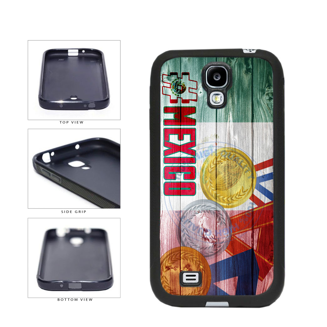 Sport Games Hashtag Team Mexico #Mexico TPU Rubber SILICONE Phone Case Back Cover For Samsung Galaxy S4 I9500 includes BleuReign(TM) Cloth and Warranty Label