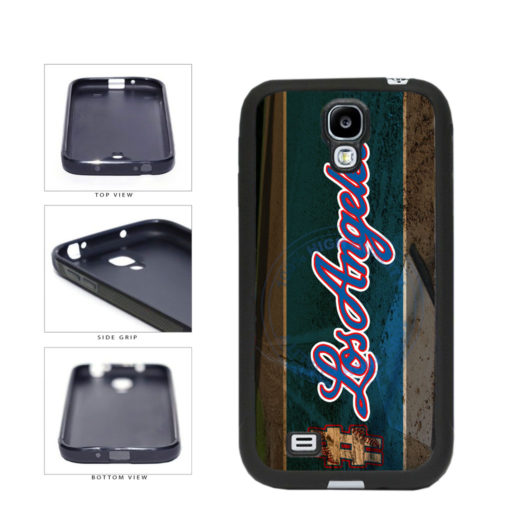 Hashtag Los Angeles #LosAngeles Blue Baseball Team  TPU Rubber SILICONE Phone Case Back Cover For Samsung Galaxy S4 I9500 includes BleuReign(TM) Cloth and Warranty Label