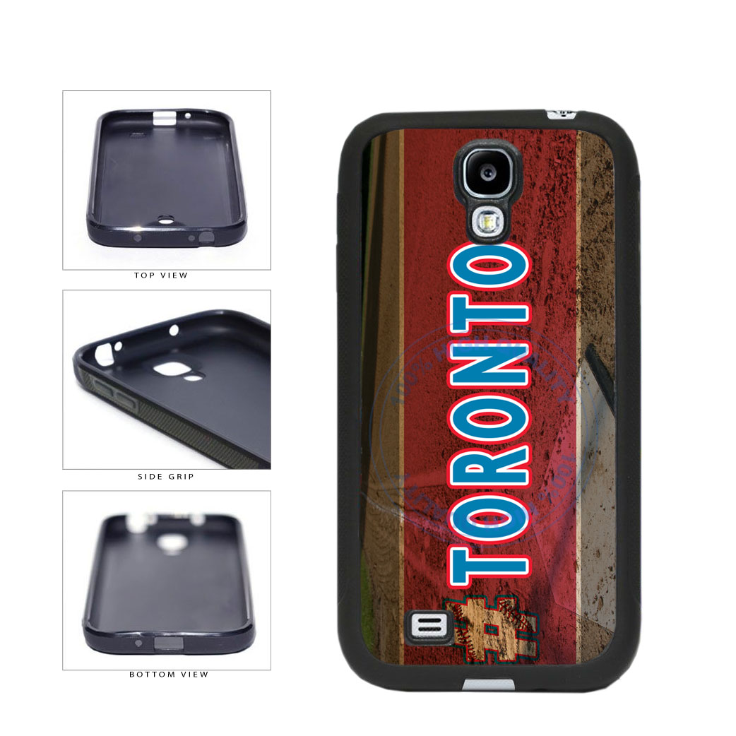 Hashtag Toronto #Toronot Baseball Team  TPU Rubber SILICONE Phone Case Back Cover For Samsung Galaxy S4 I9500 includes BleuReign(TM) Cloth and Warranty Label