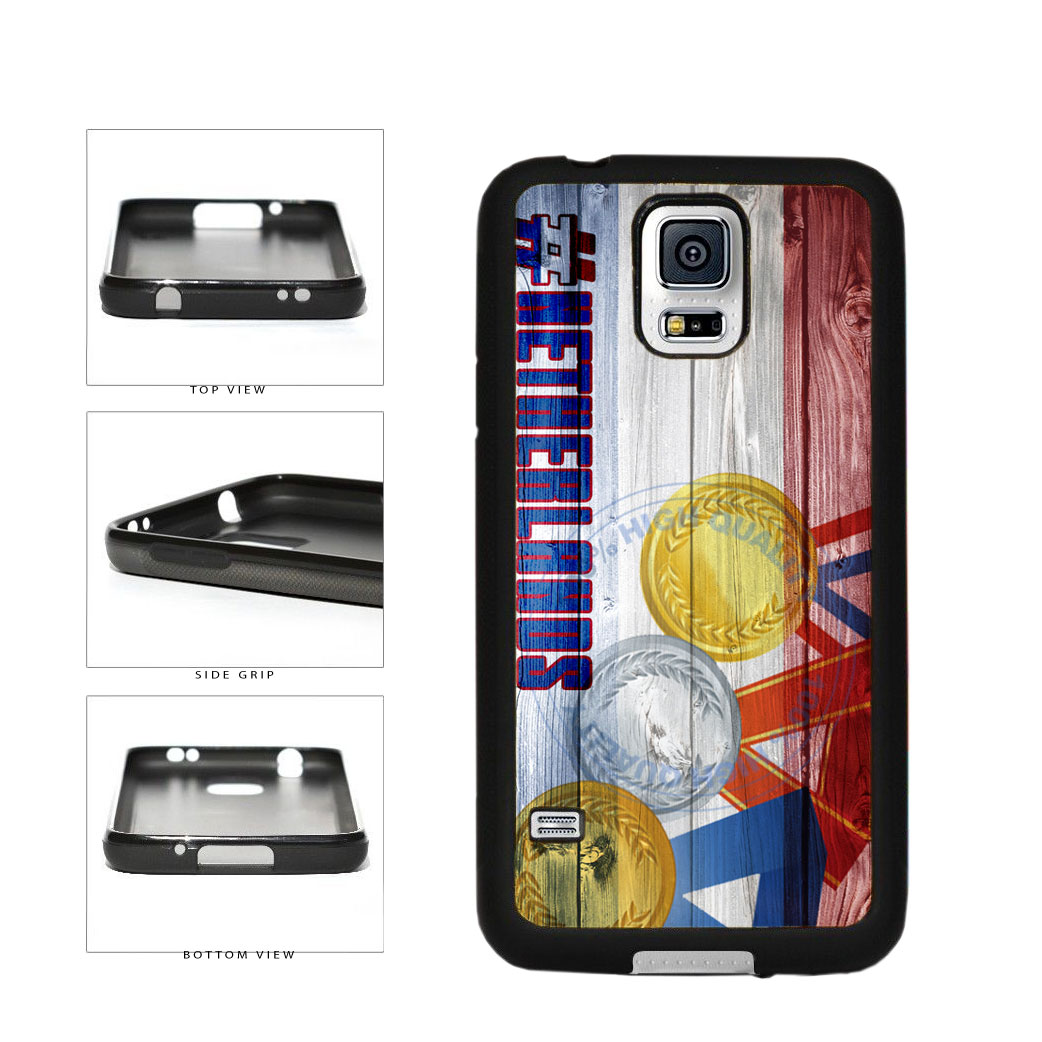Sport Games Hashtag Team Netherlands #Netherlands TPU Rubber SILICONE Phone Case Back Cover For Samsung Galaxy S5 I9600 includes BleuReign(TM) Cloth and Warranty Label