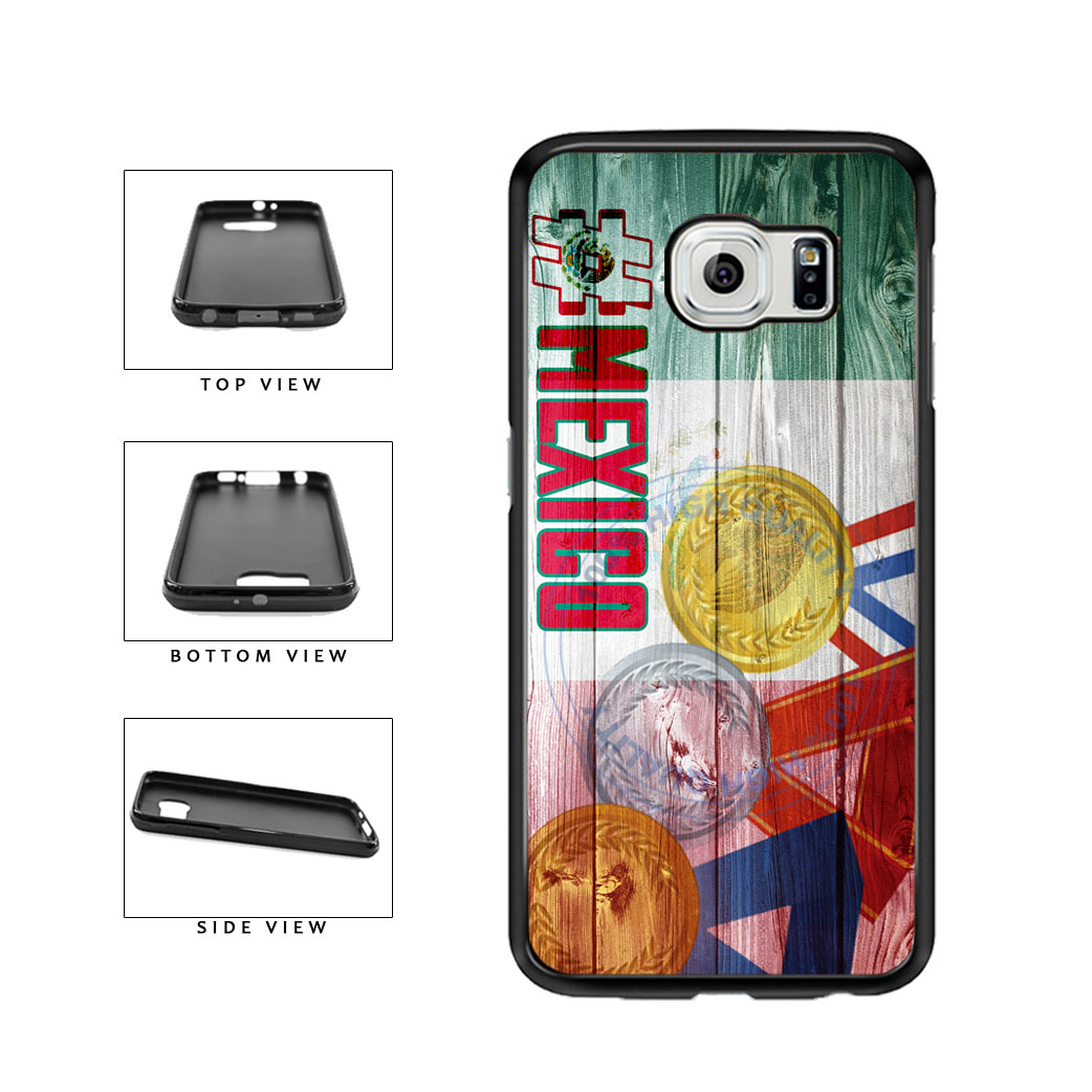 Sport Games Hashtag Team Mexico #Mexico TPU Rubber SILICONE Phone Case Back Cover For Samsung Galaxy S6 G920 includes BleuReign(TM) Cloth and Warranty Label