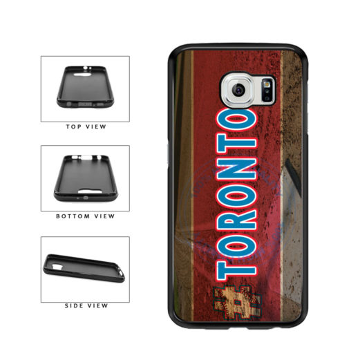 Hashtag Toronto #Toronot Baseball Team  TPU Rubber SILICONE Phone Case Back Cover For Samsung Galaxy S6 G920 includes BleuReign(TM) Cloth and Warranty Label