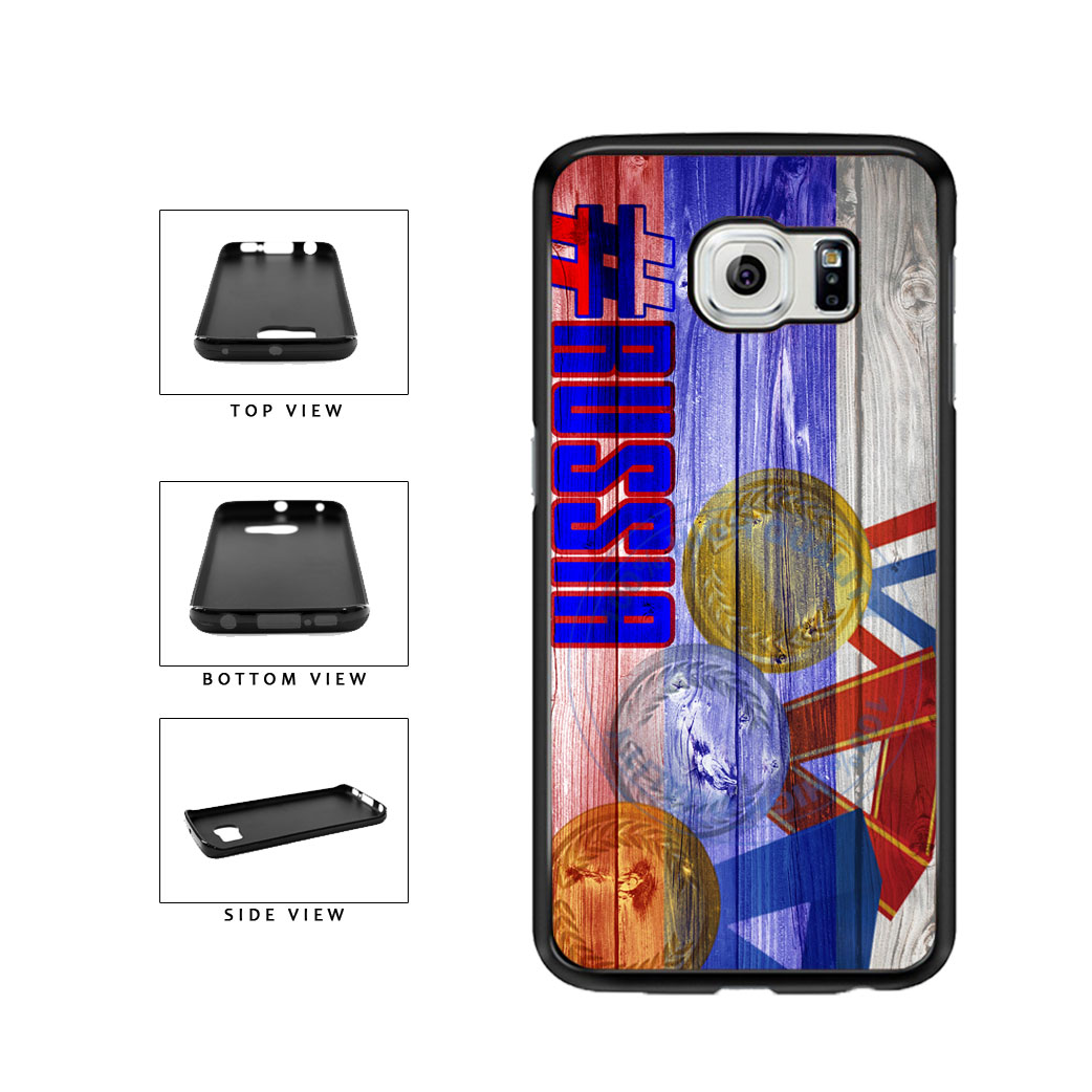 Sport Games Hashtag Team Russia #Russia TPU Rubber SILICONE Phone Case Back Cover For Samsung Galaxy S6 Edge G925 includes BleuReign(TM) Cloth and Warranty Label