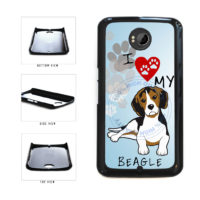 I Love My Beagle Dog Lover Plastic Phone Case Back Cover For Google Nexus 6 includes BleuReign(TM) Cloth and Warranty Label